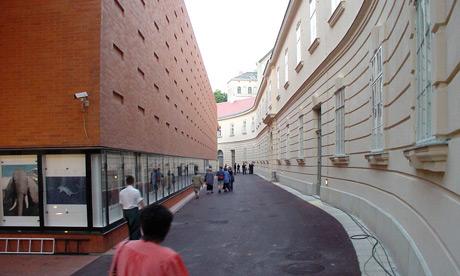 Kunsthalle und Veranstaltungshalle E+G, Museumsquartier Wien