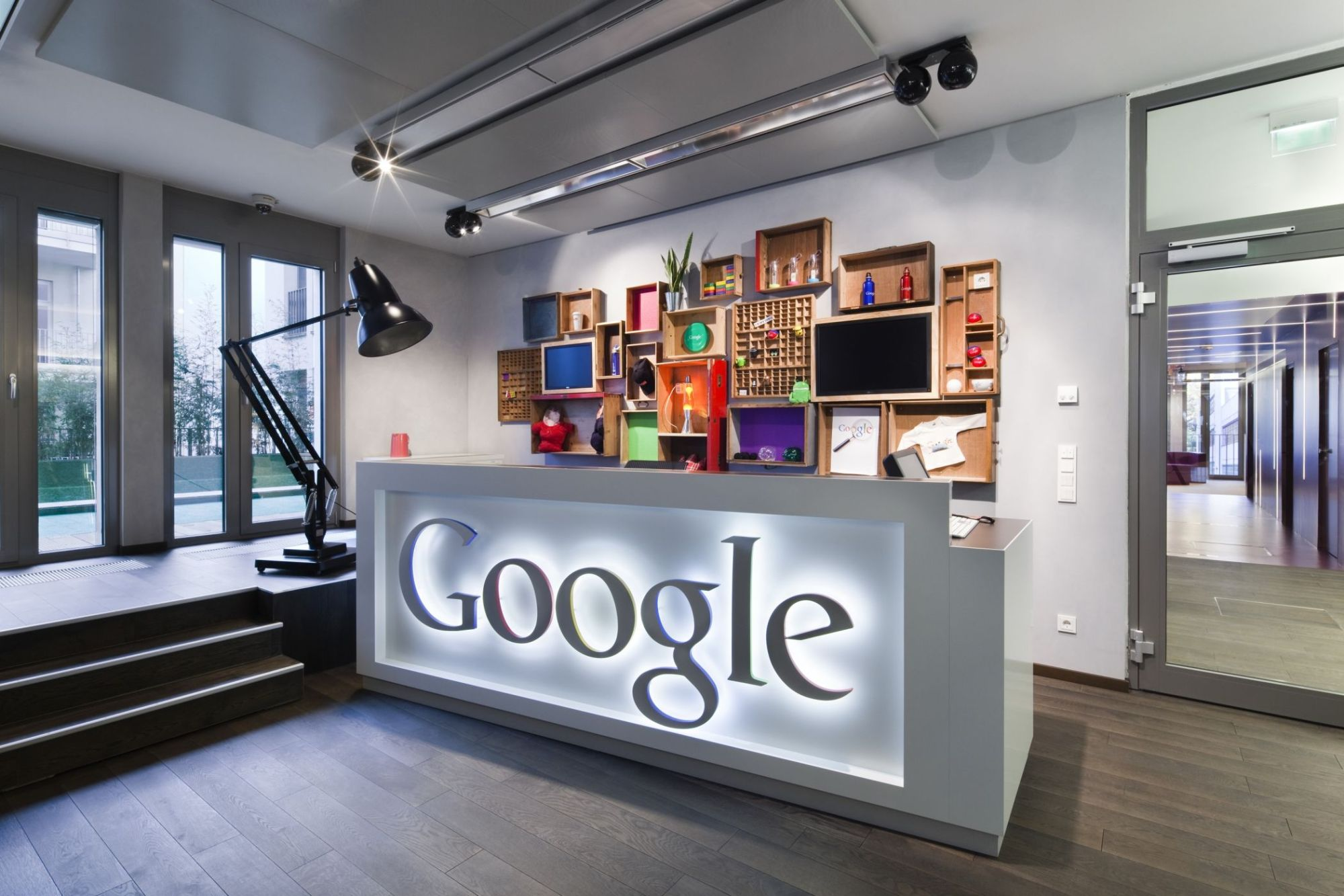 Neugestaltung Google Office Dusseldorf Lepel Lepel