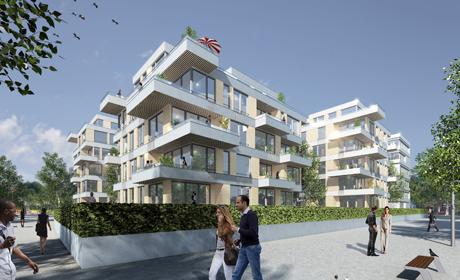 Terrassenhäuser | Universitätsviertel, Essen | © Thomas Pink