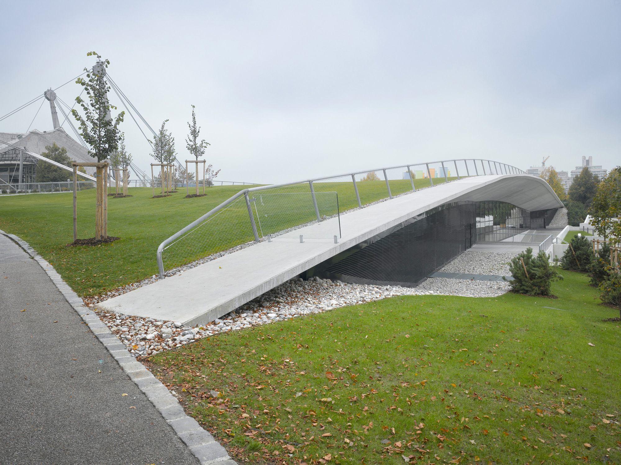 Kleine Olympiahalle im Olympiapark, München | Auer Weber, Stuttgart ...
