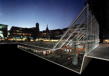 Marktplatz Stuttgart, 1. Preis