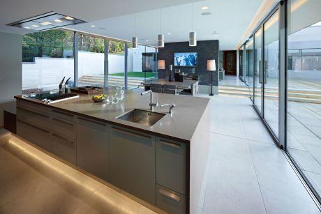 Küche und Eßbereich