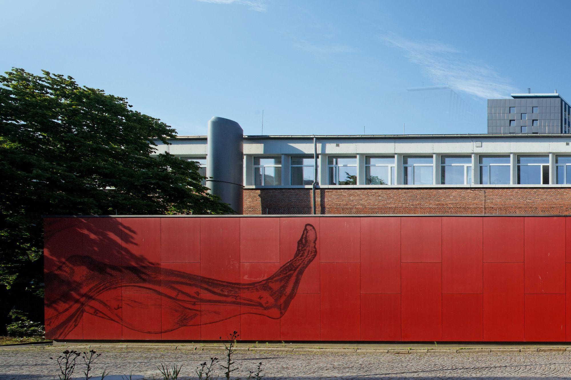 Kiel Architekten erweiterung institut für anatomie und biochemie bbp architekten