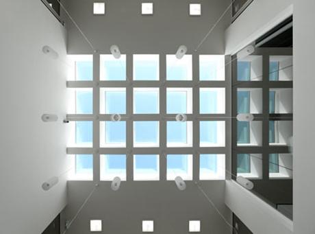 Oberlicht im Atrium