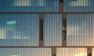 Detail Rückfassade