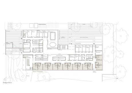 Erdgeschoss Pflegeheim