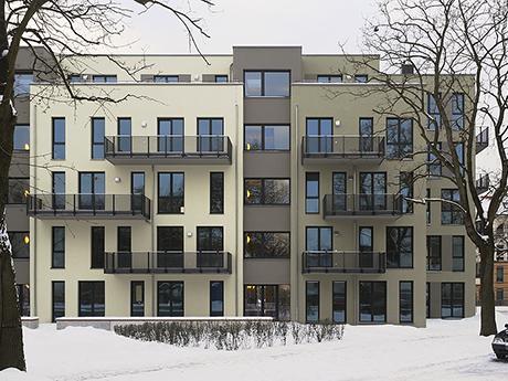 Fassadenausschnitt Werlseestraße