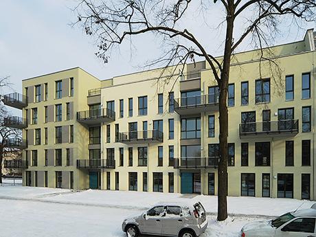 Fassadenansicht Bruno-Wille-Straße
