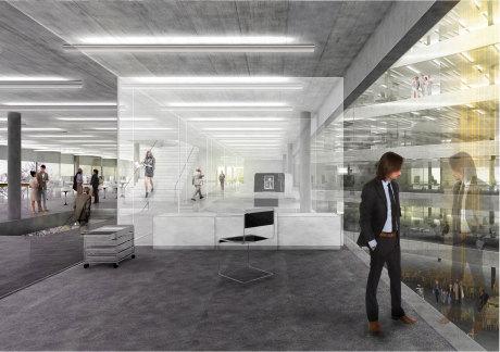 ILB Perspektive Büroetage