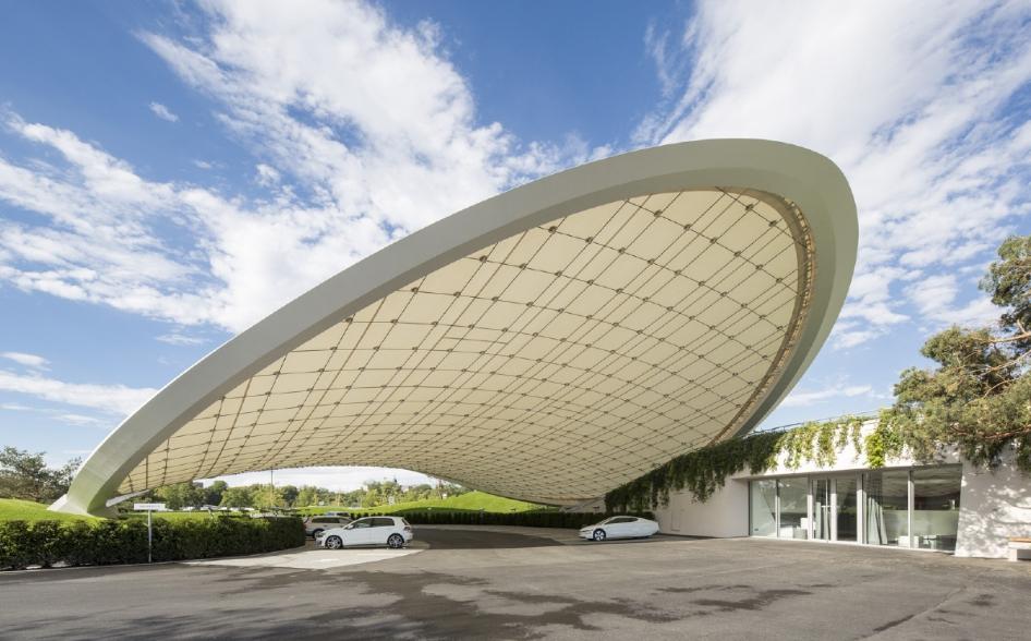 Autostadt Dach Und Service Pavillon Graft Berlin Architekten