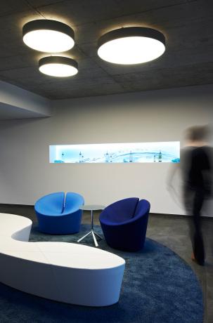 Wartebereich Foyer.