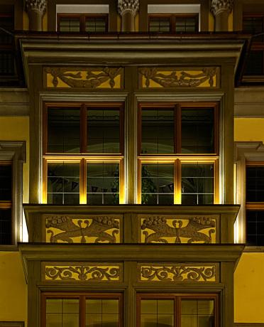 Detail Fenstersims.