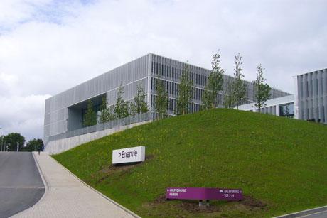 Neubau des Zentralstandorts der Enervie in Hagen, Bild: JSWD Architekten