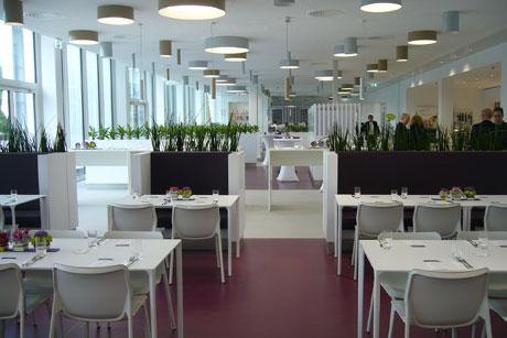 Casino der Enervie Zentrale,  Bild: JSWD Architekten