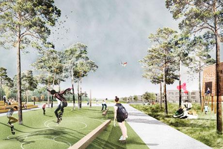 Atelier LOIDL Landschaftsarchitekten in Kooperation mit Lorenzen Architekten