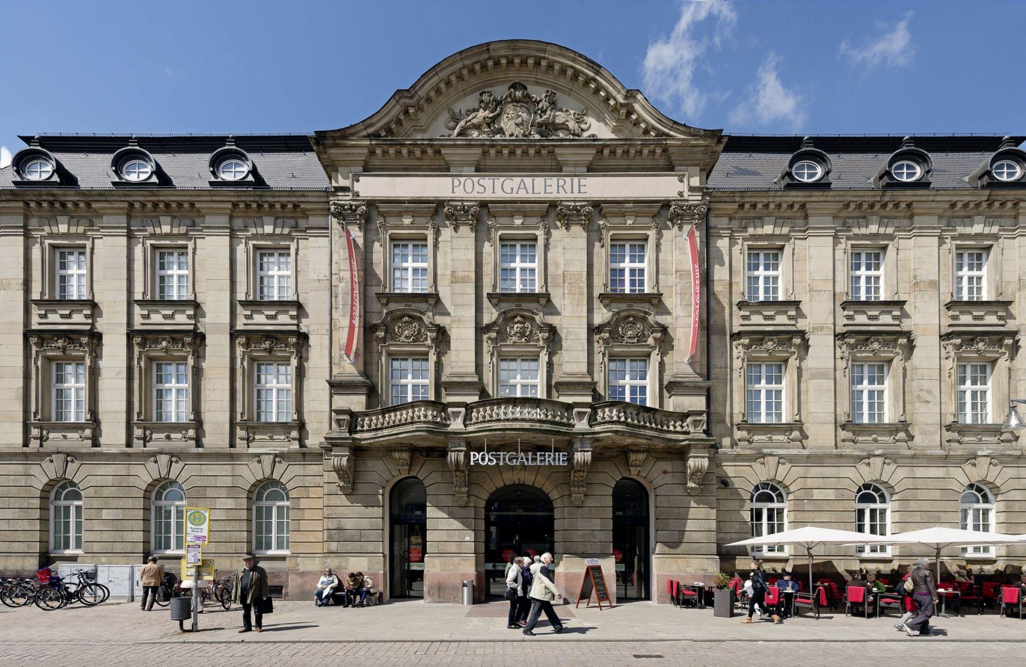 Architekten Speyer kernsanierung einkaufszentrum postgalerie speyer ssp ag bochum