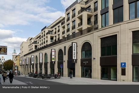 Marienstraße, Foto © Stefan Müller
