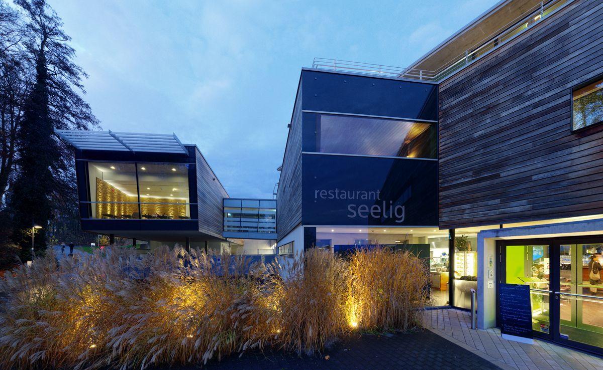 Saunaerweiterung Bodensee Therme Konstanz 4a Architekten