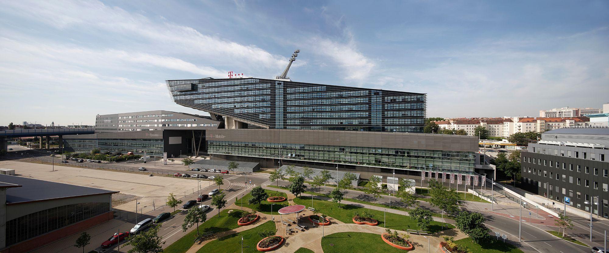 T Center St Marx Wien Architektur Consult Zt Graz