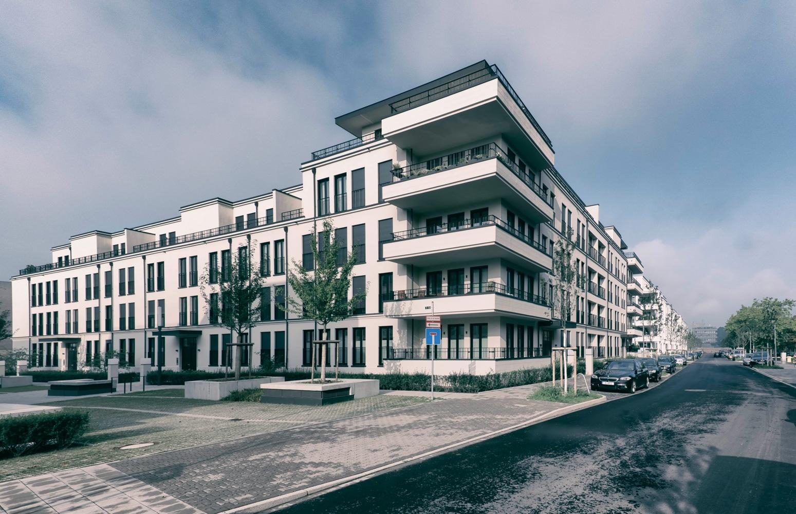 Architekten Landau fertigstellung neubau wohnanlage belsenpark 1 in düsseldorf