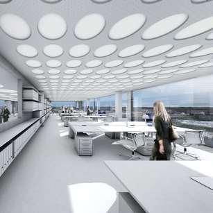 Bürogebäude Interior