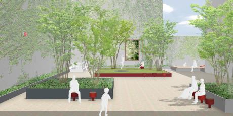 Perspektive: Lageplan: Levin Monsigny Landschaftsarchitekten