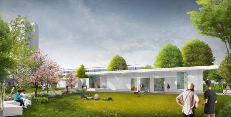 Visualisierung der Gartenansicht