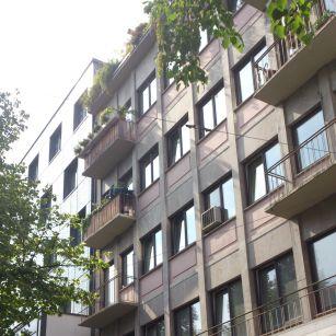Bestandsfassade, Mannheim Quadrat O7