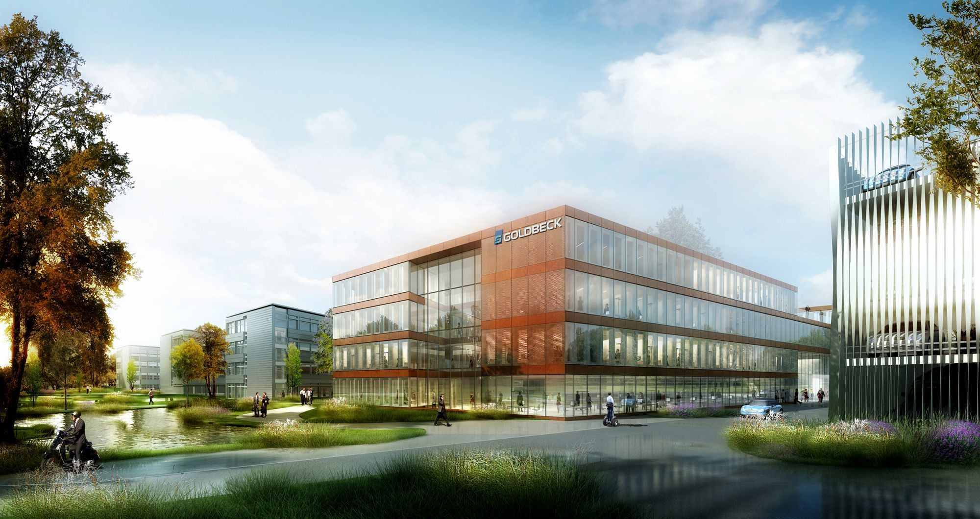 Visualisierung: © sop architekten, Rendering: formtool Anton Kolev