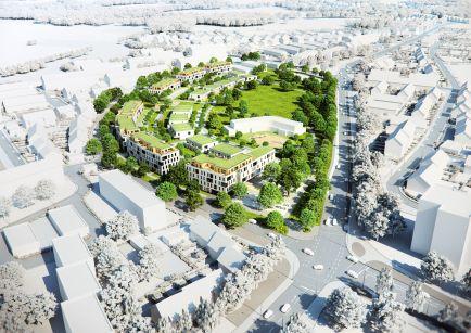 Quartier Neuss Weckhoven © sop architekten, dotdesignstudio
