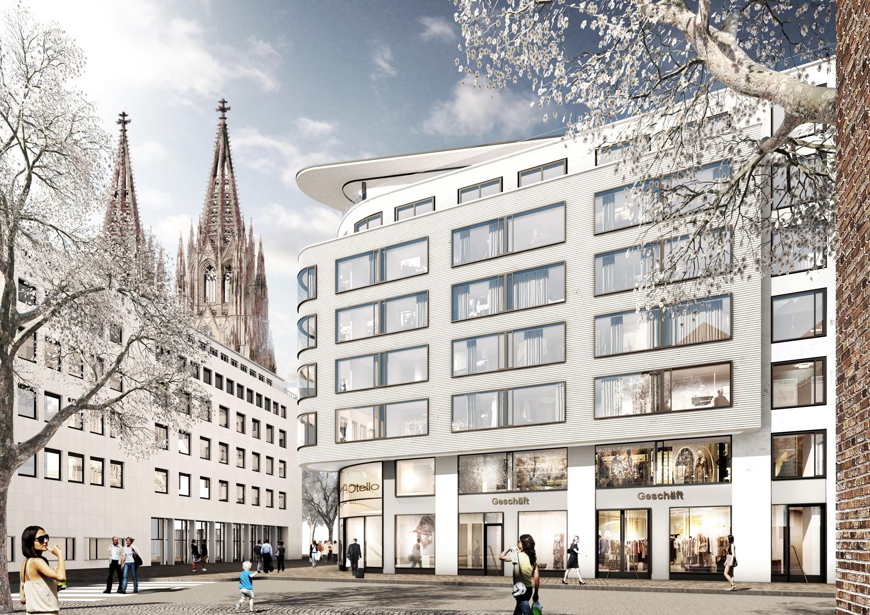 Visualisierung: Christoph Mäckler Architekten