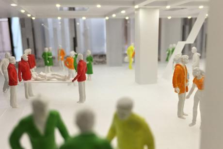 Nickl & Partner Architekten AG, Modell Kaiser-Franz-Josef-Spital Wien