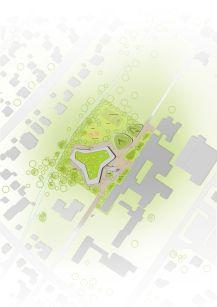 Lageplan: 4a Architekten