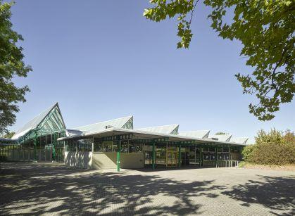 Architekturbüro Sindelfingen sanierung glaspalast sindelfingen behnisch architekten stuttgart