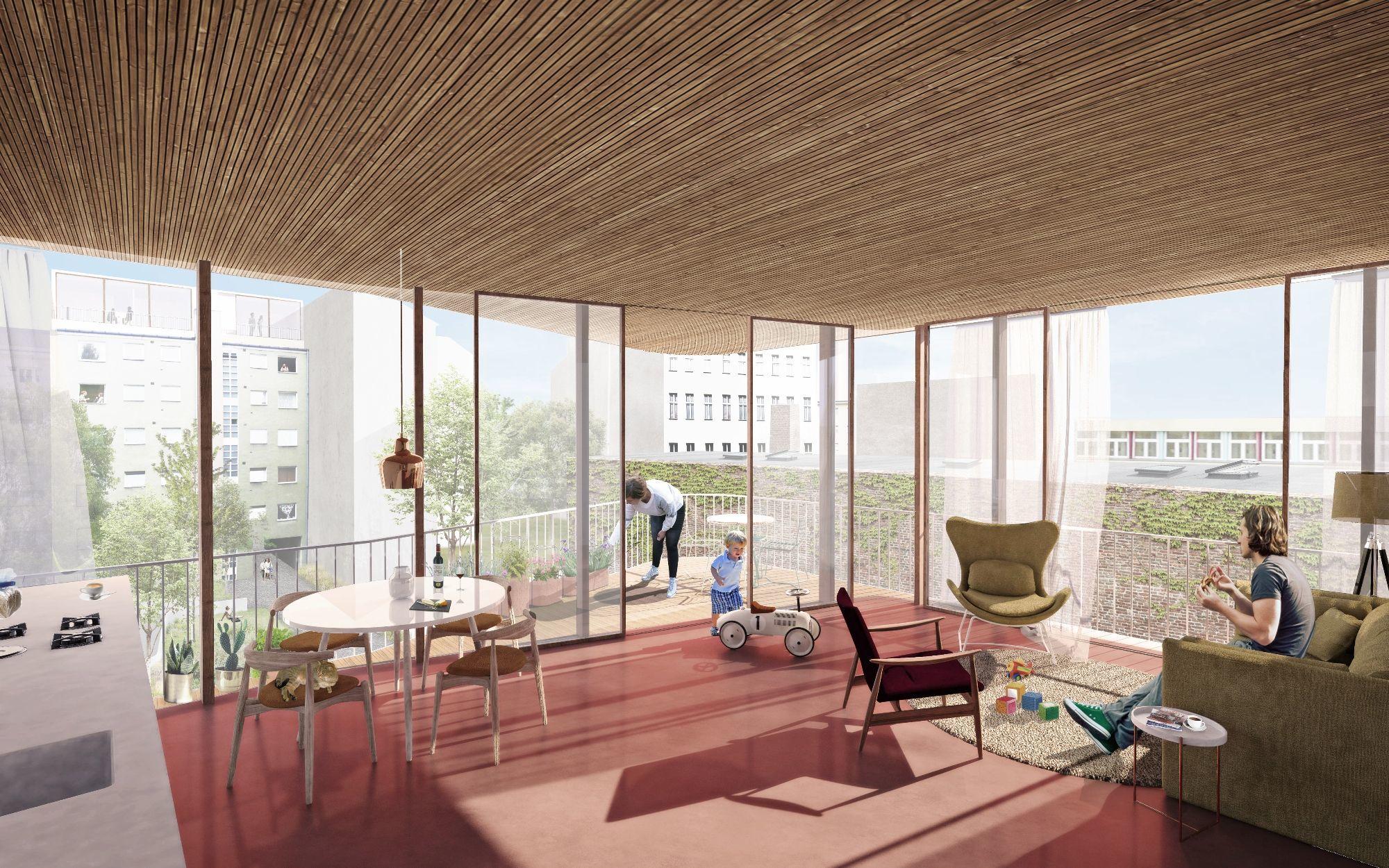 Wohnen Und Arbeiten Berlin Ludloff Ludloff Architekten Berlin