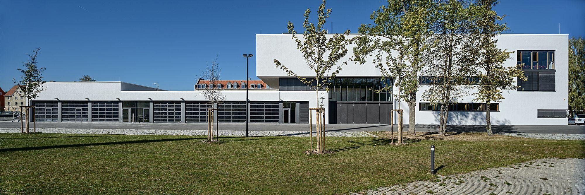 Polizeipräsidium Bayreuth Architekten Schmidt Schicketanz