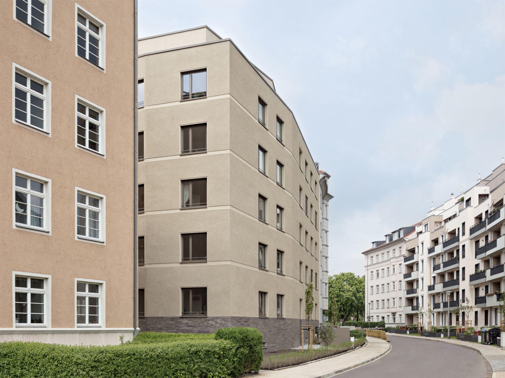 Architekten Dresden baugemeinschaft johannstadt mehrfamilienhaus f29 architekten