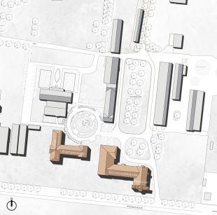 Lageplan: behet bondzio lin architekten