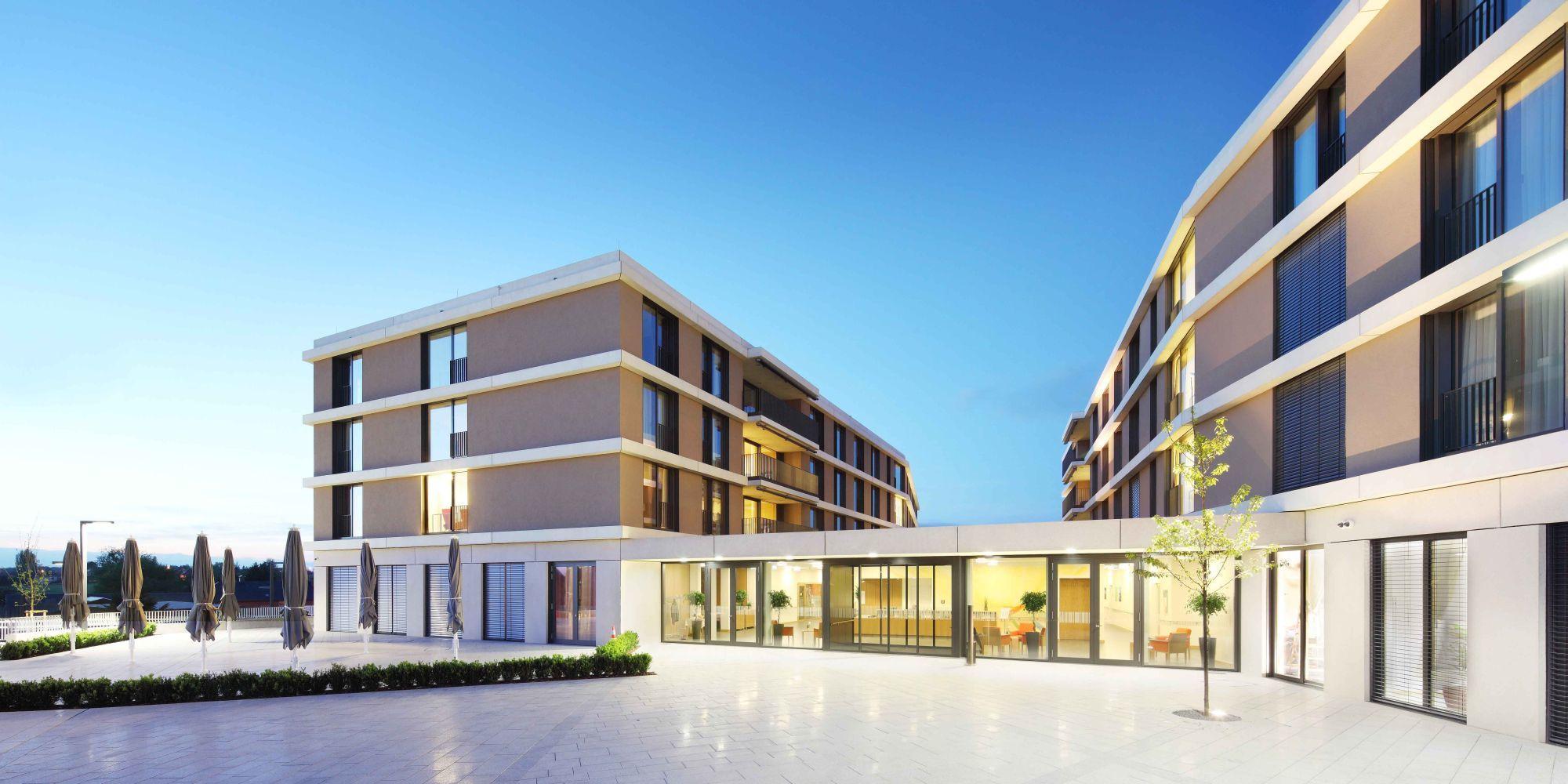 Architekt Ludwigshafen seniorie ste zithe contern luxemburg a sh architekten
