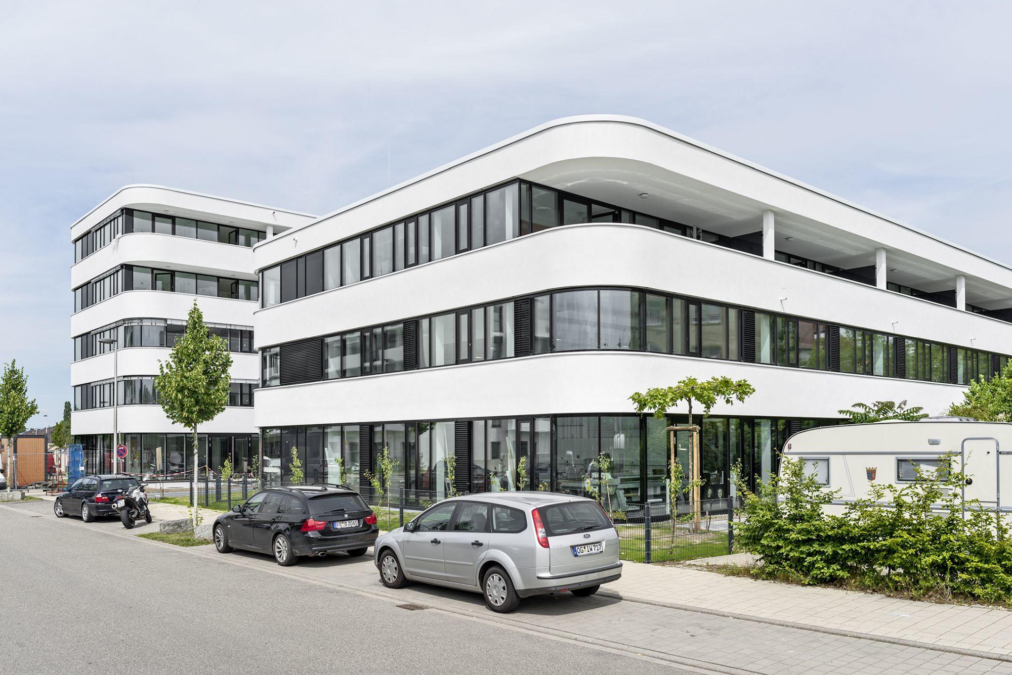 Architektur Freiburg druckerei mit wohn und geschäftshaus freiburg hotz architekten