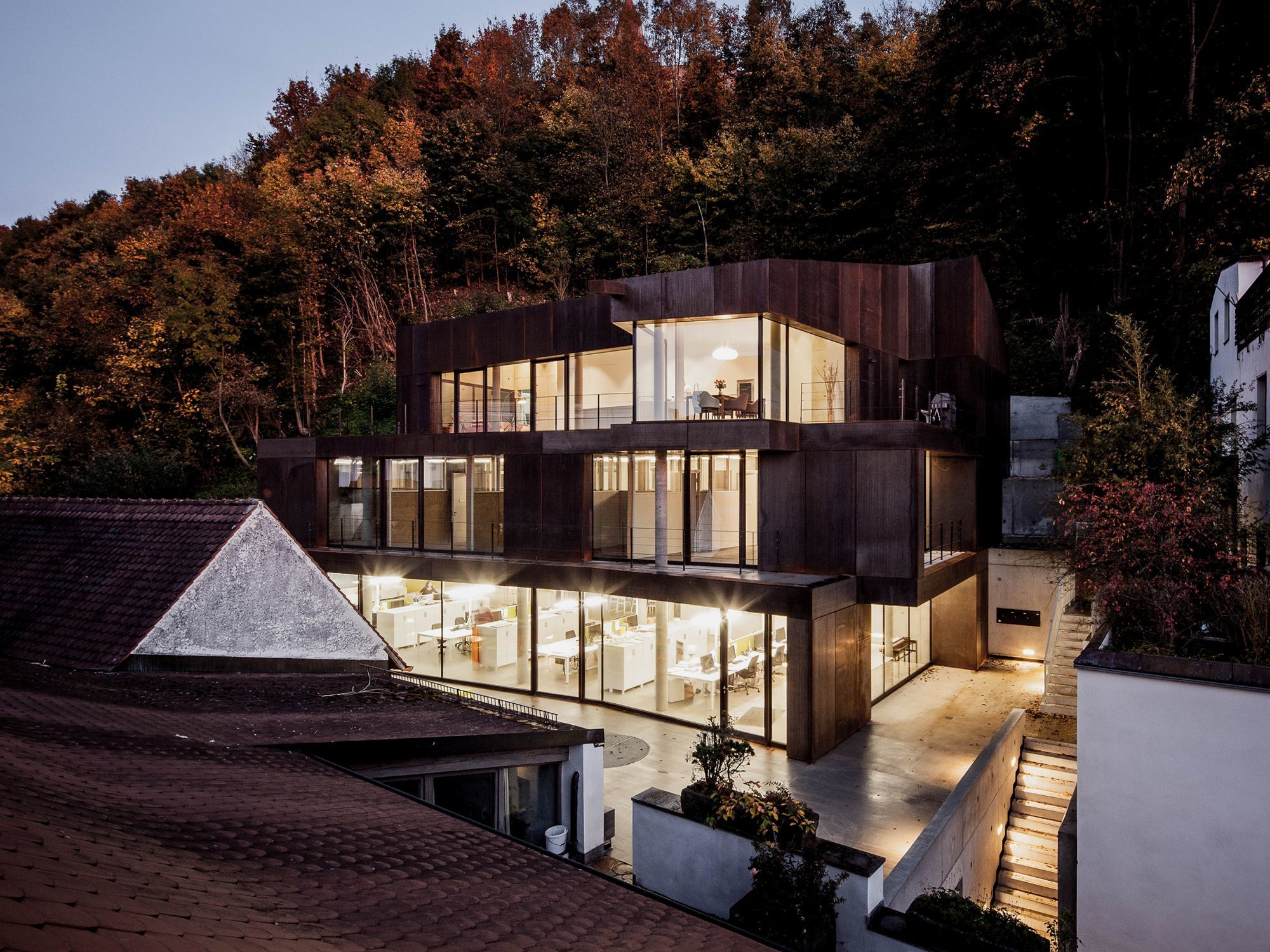 Architekten Landshut wohn und geschäftshaus in landshut aln architekturbüro