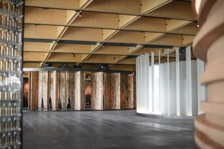 Ausstellung: Atelier Brückner; Foto: Kathrin Milic-Grunwald