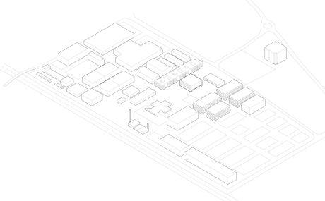 Nissen Wentzlaff Architekten: Bezug zum Areal