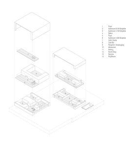 Nissen Wentzlaff Architekten: Nutzungsverteilung