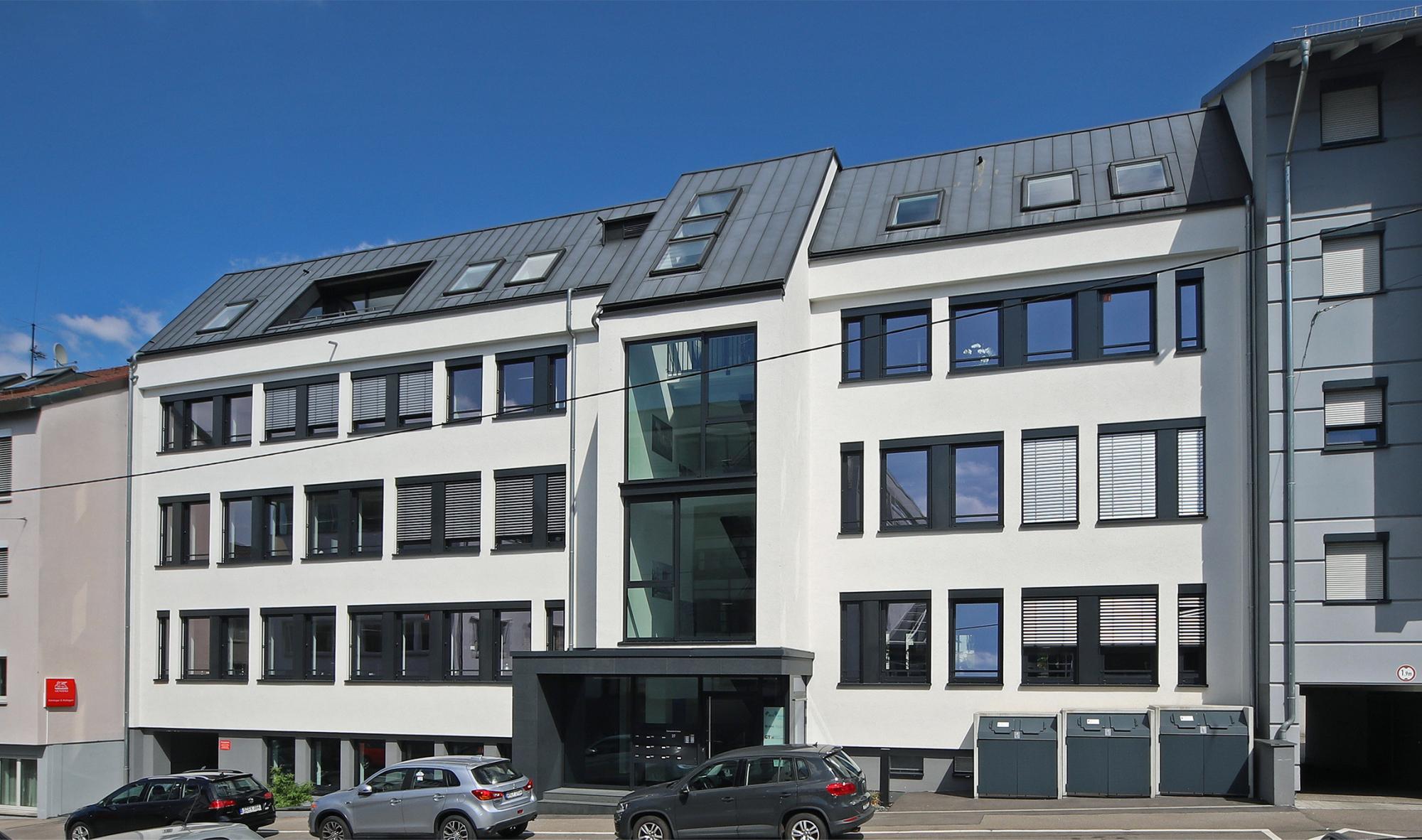 Bürohaus nach Umbau, Foto: Markus Mahle, Stuttgart