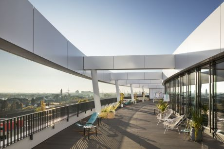 trivago Headquarter, 2018 (C) sop architekten, Foto: Constantin Meyer