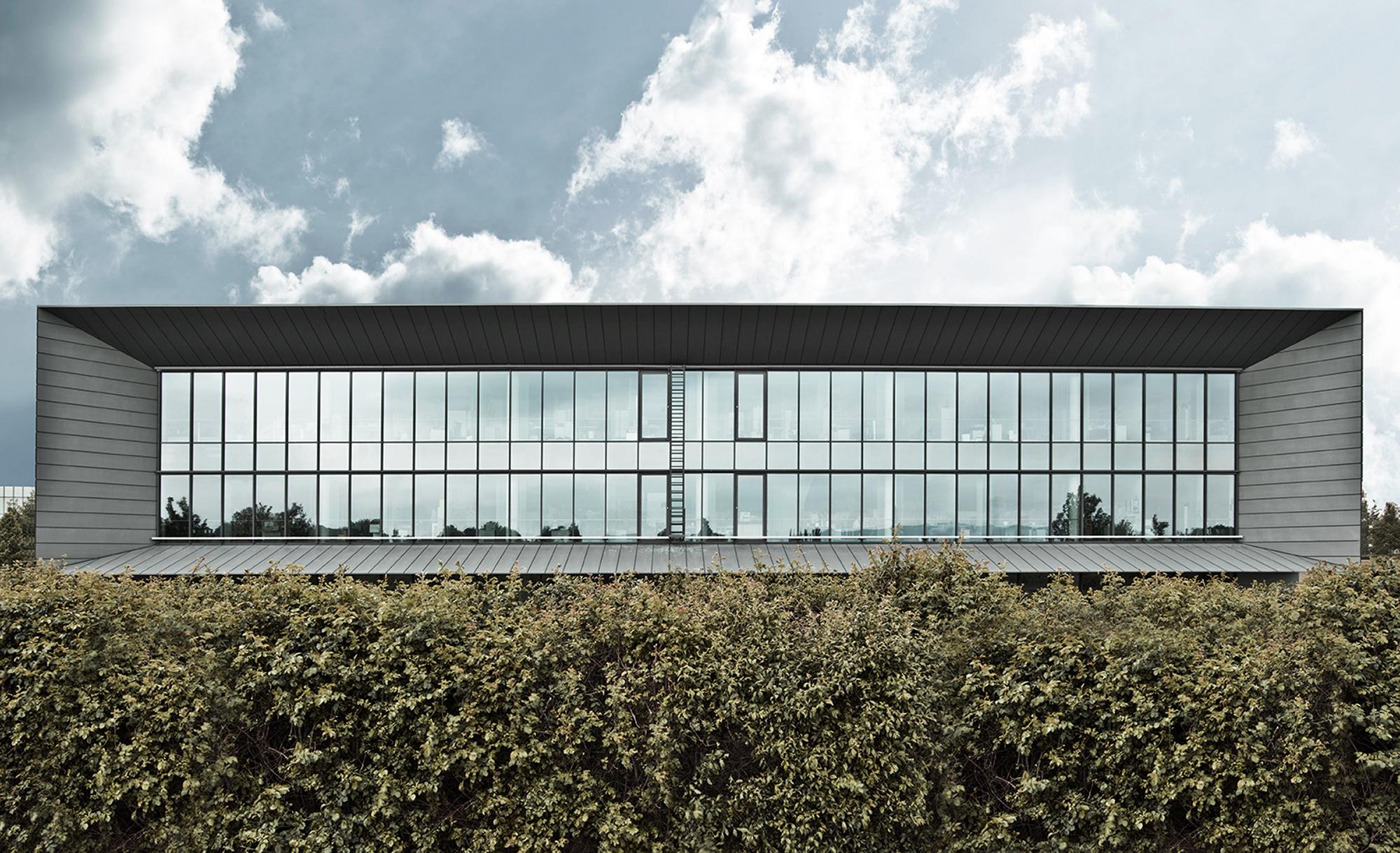Neubau Verwaltungs Konferenz Und Laborgebaude Abbott Gmbh Co Kg Christ Christ Associated Architects Wiesbaden Architekten Baunetz Architekten Profil Baunetz Architekten De