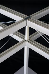Detail der Holztragstruktur, ©HENN
