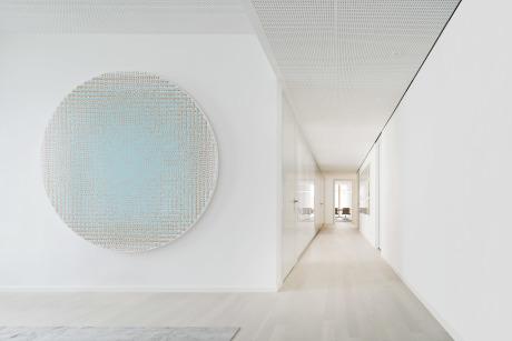 Brigida González für wulf architekten, Kunstwerk: Matti Kujasalo (Galerie Friese, Berlin)