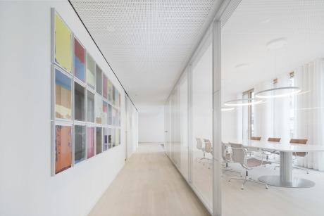 Brigida González für wulf architekten, Kunstwerk: Franziska Holstein (Galerie Friese, Berlin)